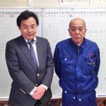町永純一郎様と坪木真一郎